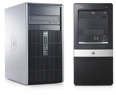 HP Compaq dc5850 and dx2450 Business Desktops