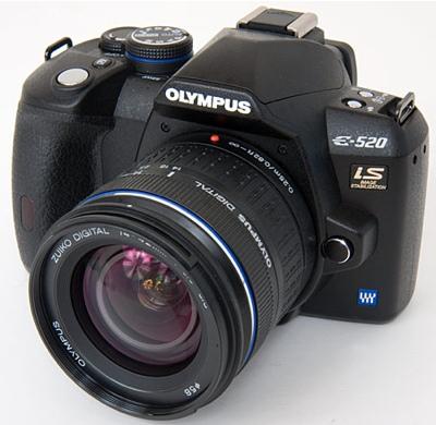 Olympus EVOLT E-520 DSLR