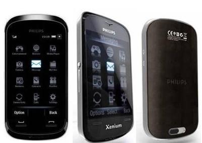 Philips Xenium X800 Touchscreen Phone