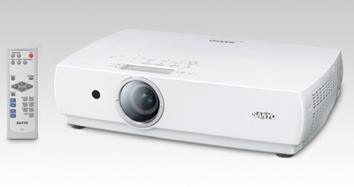 Sanyo LP-XC55 and LP-XC50 Portable Projectors