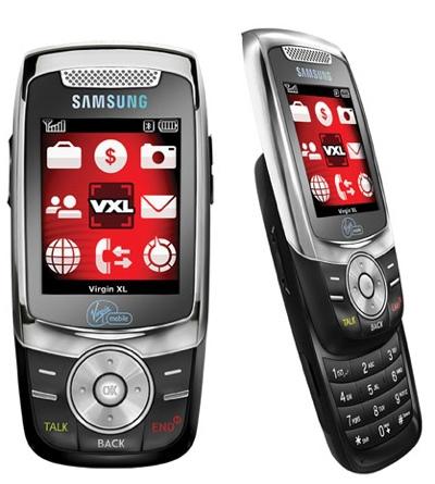 Samsung Slash Slider for Virgin Mobile