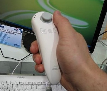 Asus Eee Stick Wiimote-like Controller