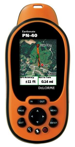 DeLorme Earthmate PN-40 GPS Device