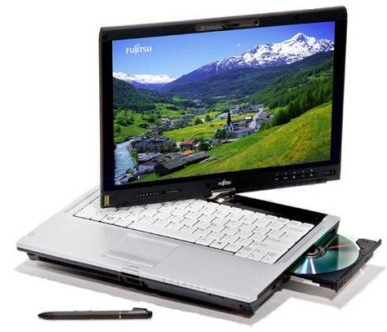 Fujitsu LifeBook T5010 and T1010 Tablet PCs