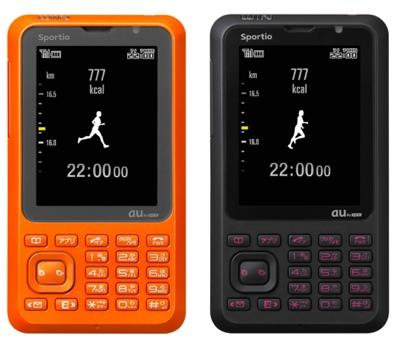 KDDI au / Toshiba Sportio Phone