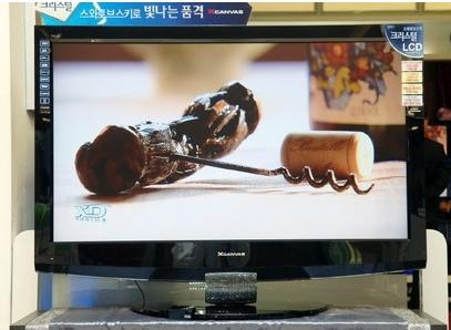 LG XCancas 47LB90FD Swarovski-studded LCD HDTV