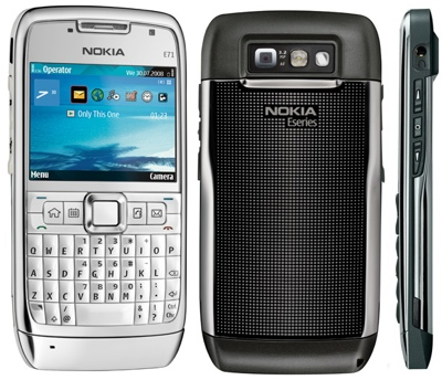 Nokia E71 Business Smartphones with QWERTY