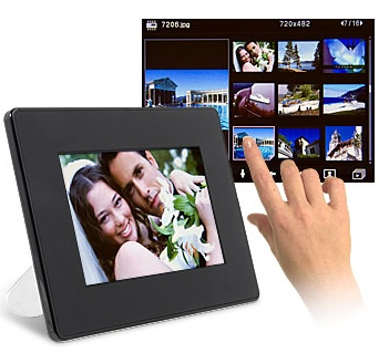 NuTouch 7-inch Touch Frame
