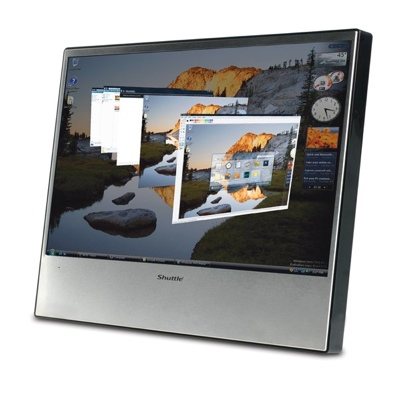 Shuttle XP19 Touchscreen Display
