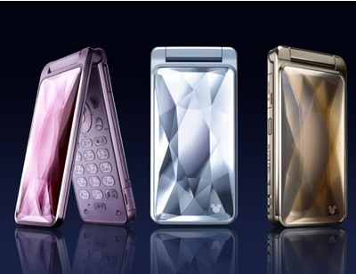 Softbank/Sharp DM002SH Disney Cinderella Phone