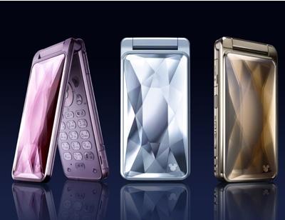 Softbank/Sharp DM002SH Disney Cinderella Phone