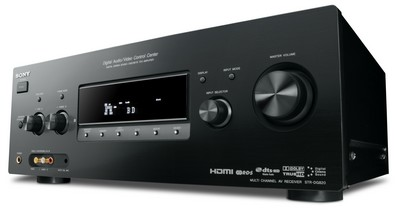 Sony STR-DG820, STR-DG720 and STR-DG520 AV Receivers for Europe