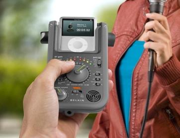 Belkin GoStudio portable iPod Recorder