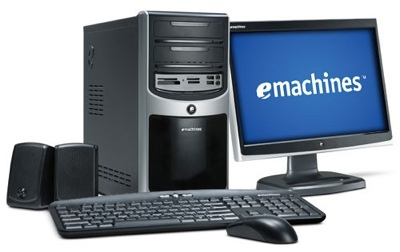 eMachines T3656, T5274 and W3653 Desktop PCs