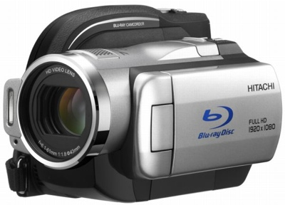 Hitachi Wooo DZ-BD10H HDD/Blu-ray Camcorder