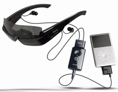 iSonic Crystal 701 and Shade 301 Wearable Video Displays