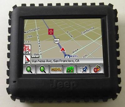 Jeep RT-300 GPS Navigation Device