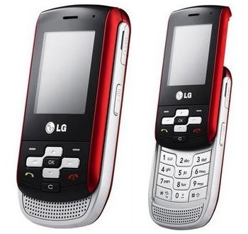 LG KP265 Music phone for Russia