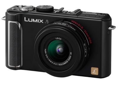 Panasonic Lumix DMC-LX3 with Enhanced CCD