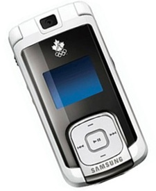 Samsung m530 Canadian Olympic Team Edition