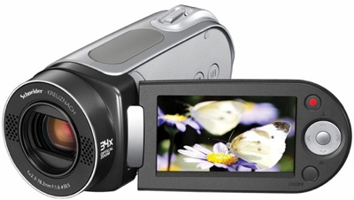 Samsung SC-MX20 YouTube-Friendly 34X Zoom Camcorder