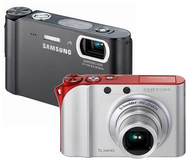 Samsung TL34HD and TL9 Digital Cameras