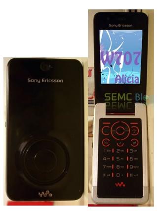 Sony Ericsson Alica W707 Walkman Phone
