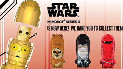 Star Wars Mimobot Flash Drives