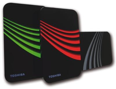 Toshiba 3 Portable External Hard Drives