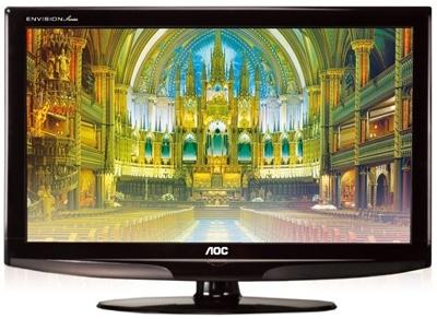 AOC Envision L19W861, L26W861 and L32W861 LCD HDTVs