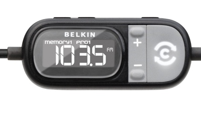 Belkin TuneCast Auto works with iPhone 3G