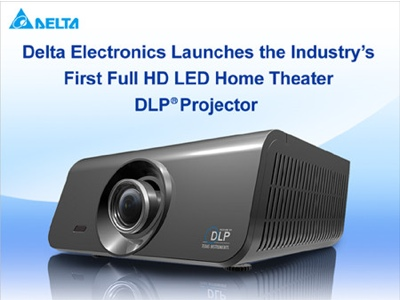 Delta First Full HD LED DLP Projector