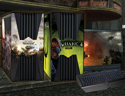 GameRigs QUAKE Wars and Quake 4 Desktop Gaming PC