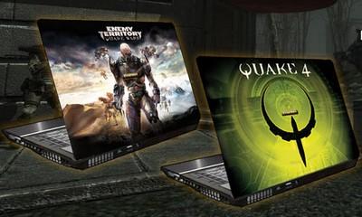 GameRigs QUAKE Wars and Quake 4 Gaming Laptop PC