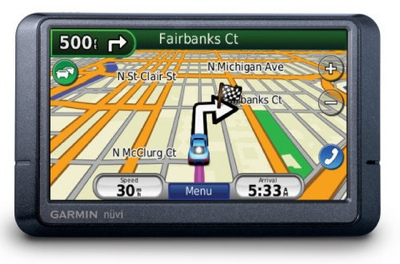 Garmin nuvi 265T, 265WT and 275T GPS Devices