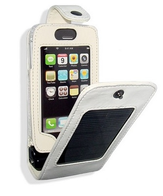 iPhone 3G Solar Charing Case