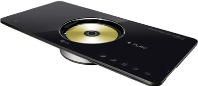 LG DVS450H Stylish DVD Player