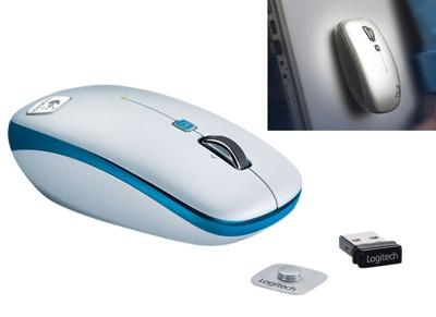 Logitech V550 Nano Clip-and-Go Mouse