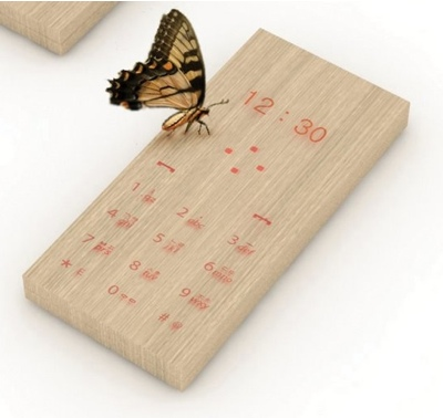 Maple Phone Wooden Phone Concept