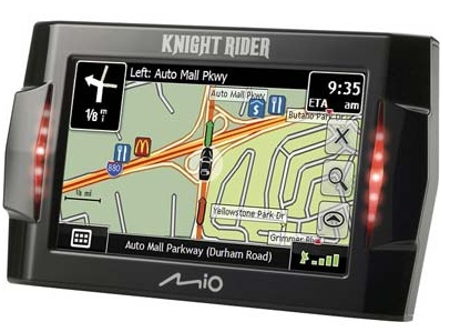 Mio Knight Rider GPS Device