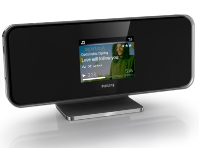 Philips NP1100, NP2500, and NP2900 Network Music Players