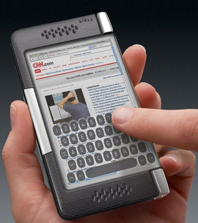 Plica Concept Phone with two Touchscreens