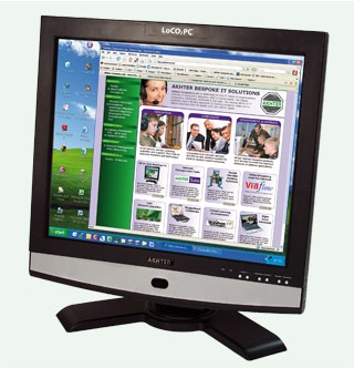 Akhter LoCO2PC All-in-One Green PC