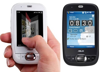 Asus P552w PDA phone with Glide UI