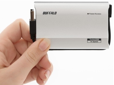 Buffalo MicroStation - the First External SSD