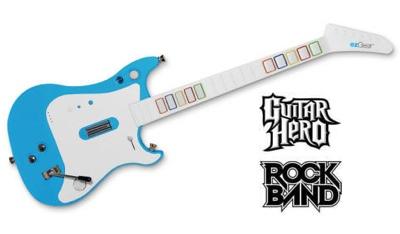 ezJam Combo Guitar for Wii