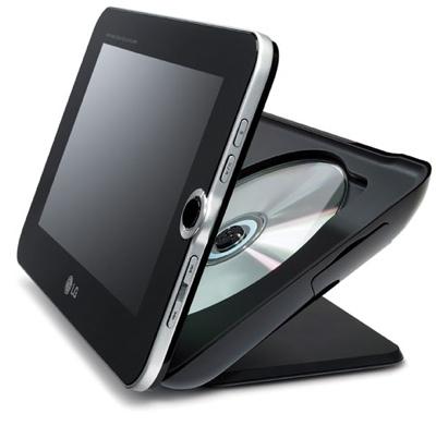 LG DP889 Portable DVD Player/Digital Frame Combo
