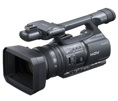Sony HDR-FX1000 and HVR-Z5J HD Camcorder