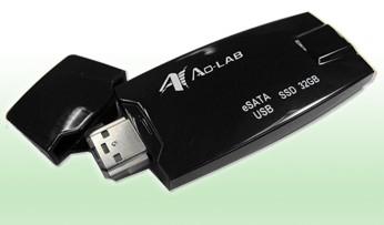 Ao-Lab eSATA and USB SSD Combo Drive