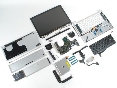 Apple MacBook pro Disassembled